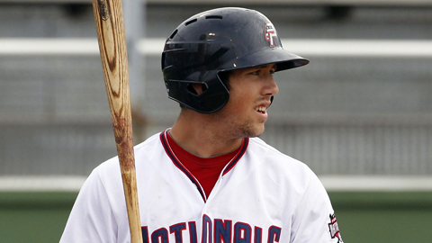 Steven Souza drove in 56 runs in 122 Carolina League games last year.