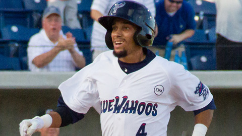 Billy Hamilton has an .816 OPS with Pensacola in 31 games.